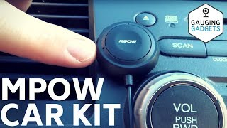 Mpow Bluetooth Car Kit Review - MBR2 Handsfree Kit