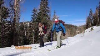 Backcountry Skiing from the Puffer Lake Yurt in Utah's Tushar Mountains