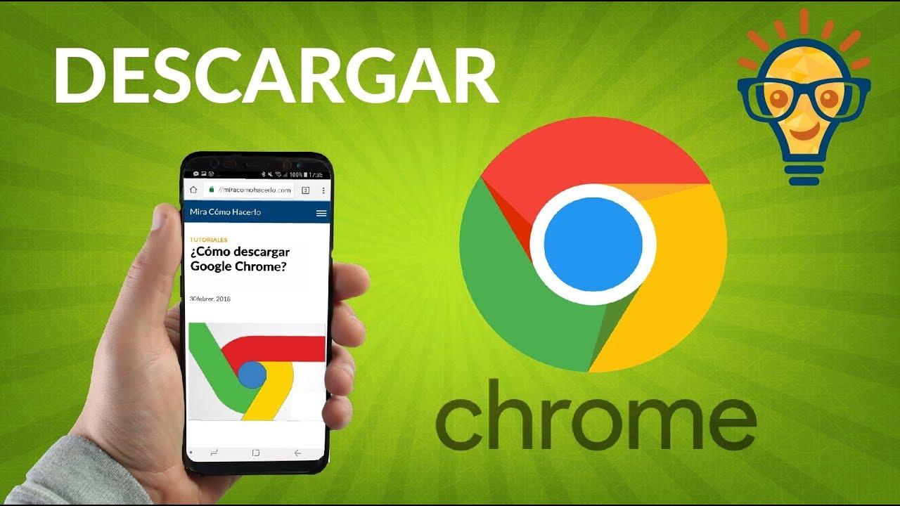 Tutorial Como Descargar e Instalar Google Chrome [Versión ...