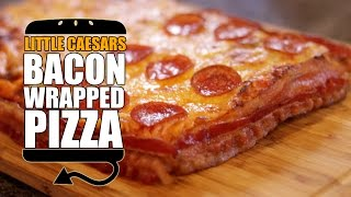 Little Caesar's Bacon Wrapped Deep Deep Dish Pizza Recipe