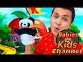 Funny Face   Funny Song for Kids   Babies and Kids Channel - Nursery Rhymes