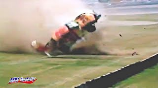 Johnny Benson Big Crash 1993 Detroit Gasket 200
