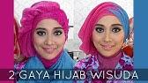 Tutorial Hijab Wisuda Graduation 2016 Paris Segiempat Layer Alyn Devian Ad2 Youtube