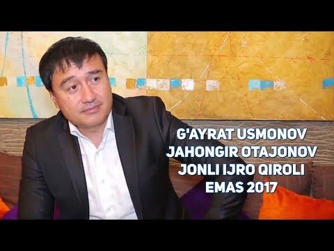 """G'ayrat Usmonov: """"Jahongir Otajonov """"Jonli ijro Qiroli"""" emas!"""" 2017"""