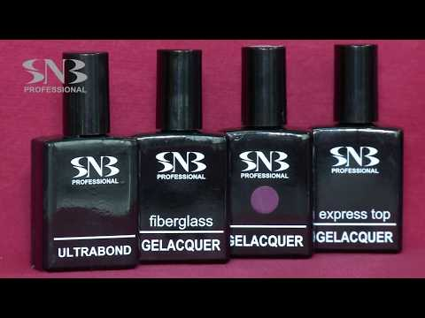 FIBERGEL GELACQUER by SNB Professional