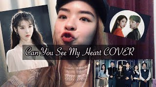Gambar cover HEIZE - Can You See My Heart (Cover) (From Hotel Del Luna OST)