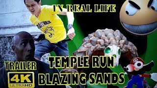 Pacman in real life   Temple run blazing sands real life   edit mobile HD