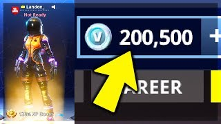 (+200,000 V BUCKS) The RICHEST FORTNITE ACCOUNT *EVER* in Fortnite Battle Royale!