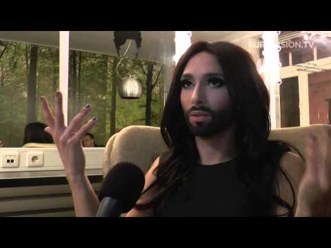 Interview with Conchita Wurst - Austria 2014