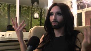 Interview with Conchita Wurst - Austria 2014