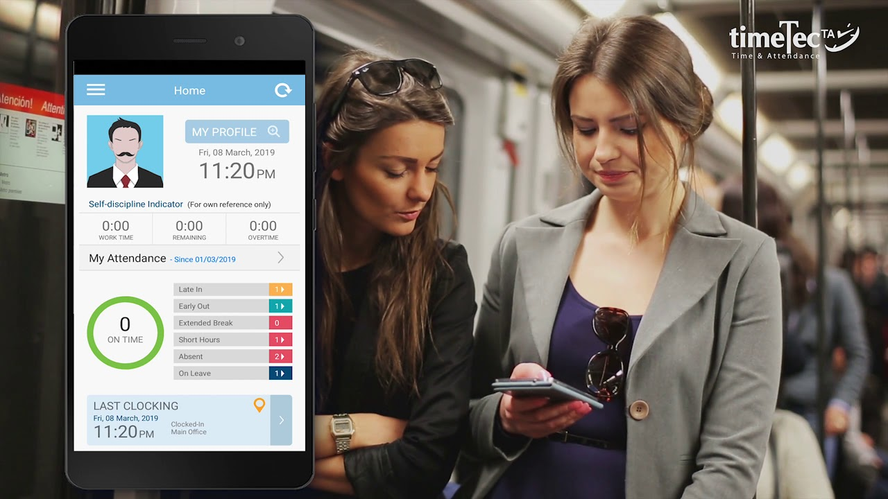 Easy Attendance Clocking with TimeTec TA App