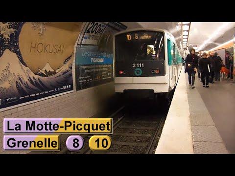 La Motte-Picquet - Grenelle | Ligne 8 - Ligne 10 : Métro de Paris ( RATP MF77 - MF67 )