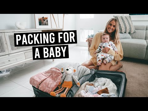 How We Pack For a Trip With a Baby (what to bring)