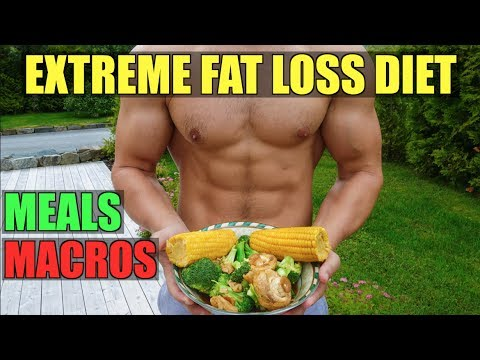 1 WEEK EXTREME FAT LOSS DIET | ALL THE MEALS I ATE | DAY 6