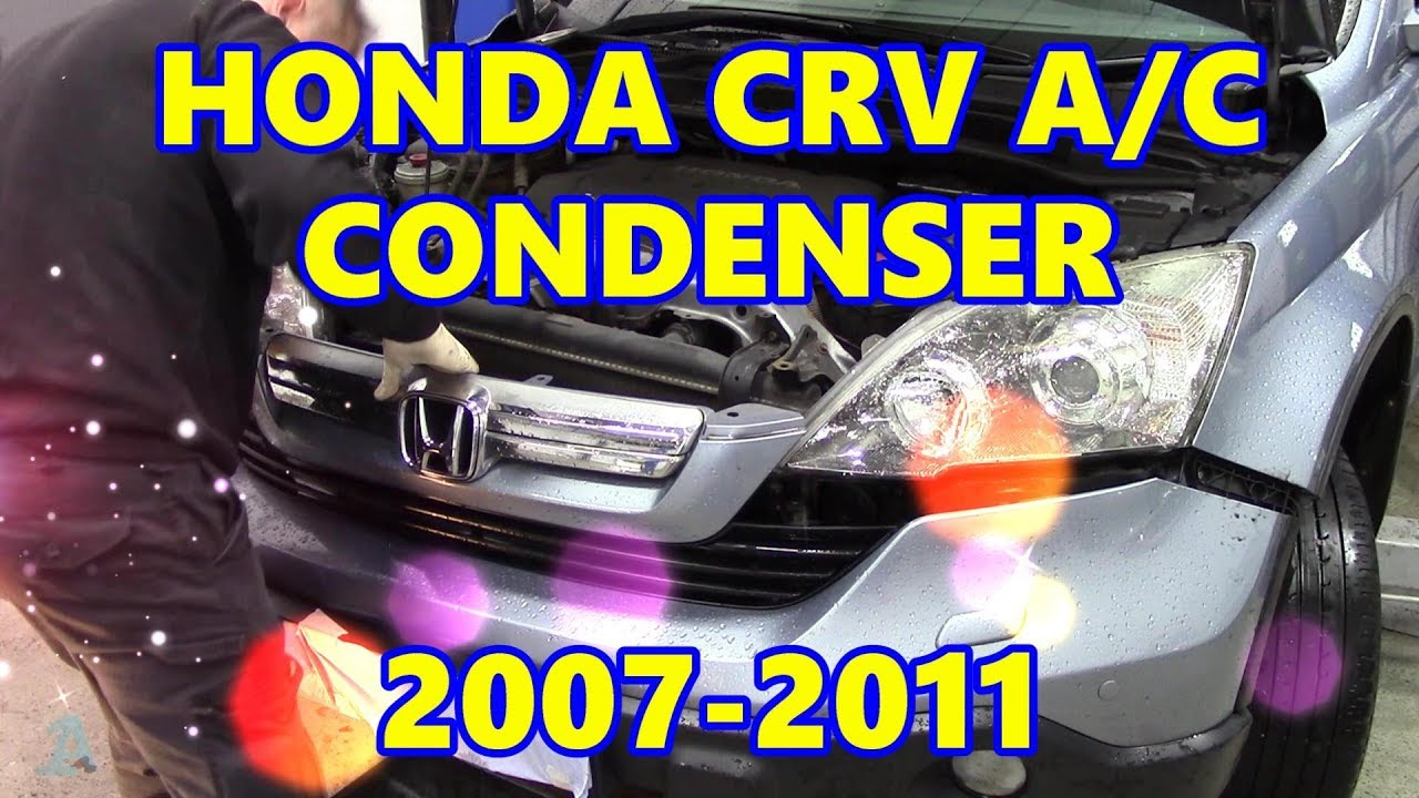 medium resolution of honda crv air con condenser 2007 2011