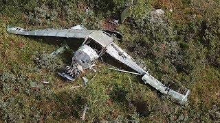 Возле перевала Дятлова нашли самолёт. Real video