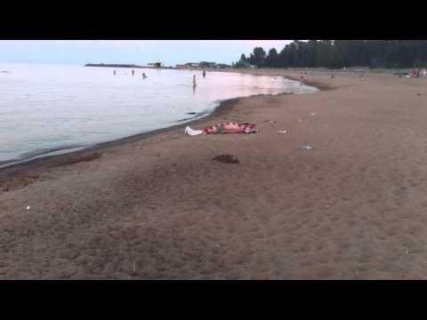 труп на пляже
