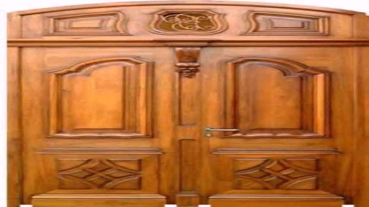 Kerala Style House Front Door Design - YouTube