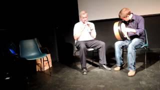 Jim Higgins and Micheal O hAlmhain, teacher's recital, Craiceann Bodhran Festival 2012
