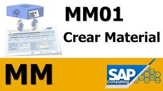 SAP MM - Crear Matériel MM01  ️