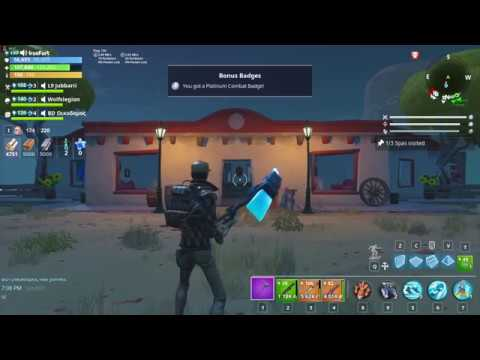 How to visit spas in 58+ Ghost town zone??Fortnite save the world