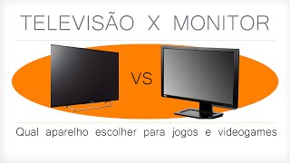 Qual TV/Monitor comprar para Videogame? - PS4, PS3, Xbox One, X360, Wii U
