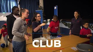 VIDEO: LA MINUTE CLUB -  UN MOMENT DE CONVIVIALITE A L'INSTITUT LE VAL MANDE