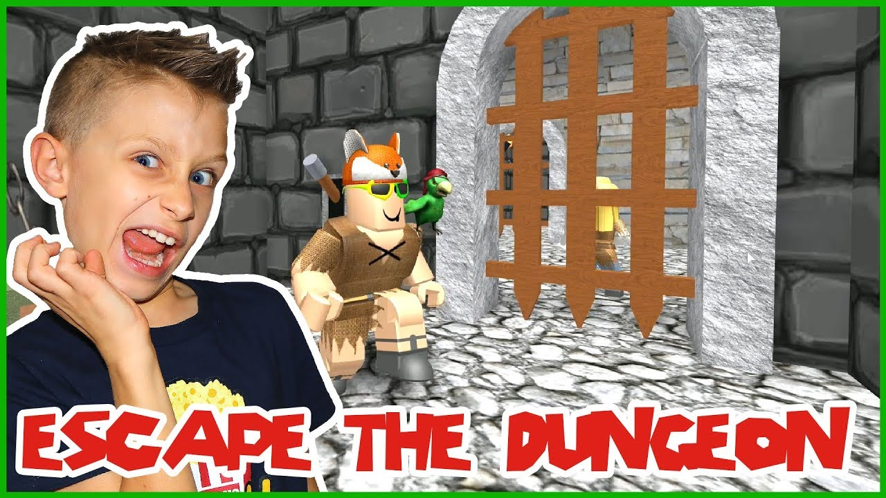 Roblox Obby Ronaldomg Escaping The Dungeon In Roblox Youtube