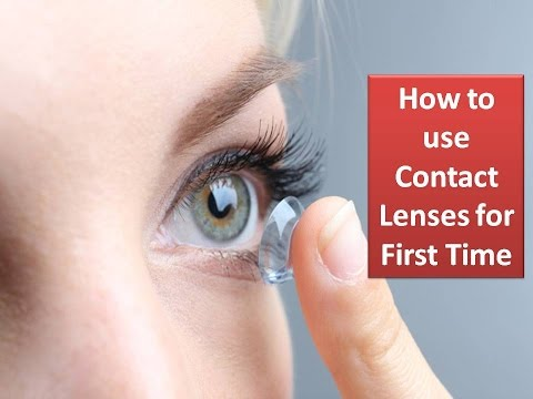 How to Use Contact Lens Safely for First Time Step by Step ...