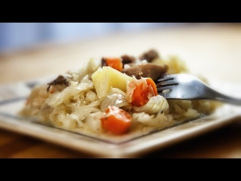 Slow Cooker Pork Hocks And Cabbage - Golonka Z Kapusta Z Wolnowaru - Recipe #158