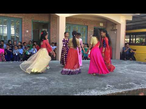 Teej Dance 2076 by Class 6 at Harvard Academy