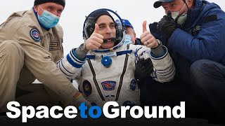 Space to Ground: Thumbs Up: 10/23/2020