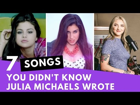 7 Songs You Didn't Know Were Written By Julia Michaels | Hollywire