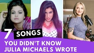 Download Lagu 7 Songs You Didn t Know Were Written By Julia Michaels Hollywire MP3