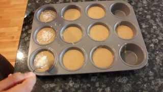 Healthy Banana Protein Muffins | No Flour
