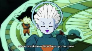 Zen Exhibition Match Rules   Dragon Ball Super Episode 81