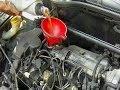 Cambio  filtro de aceite & vaciado de aceite del motor paso a paso