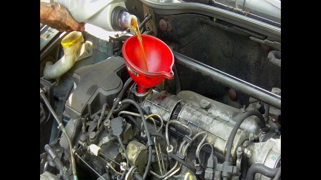 Chevrolet El Paso >> Cambio filtro de aceite & vaciado de aceite del motor paso ...