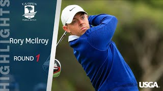 2019 U.S. Open, Round 1: Rory McIlroy Highlights