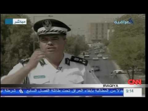 Baghdad's traffic guru