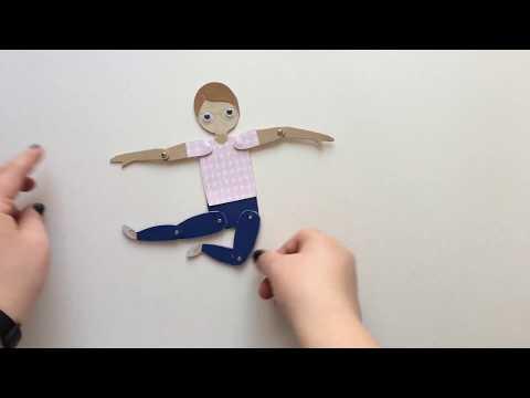 Куклы дергунчики своими руками шаблоны