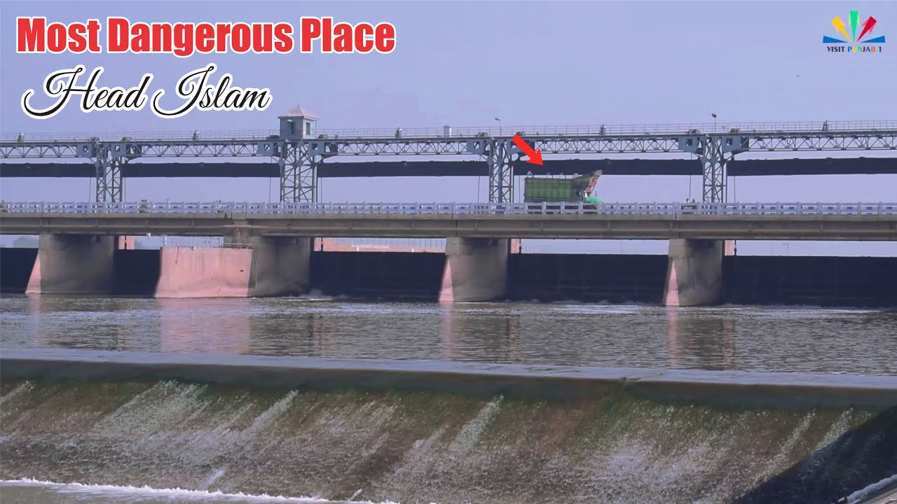 Pakistan Village Life Daily Routine In Rural Punjab / Satluj River (Head Islam)