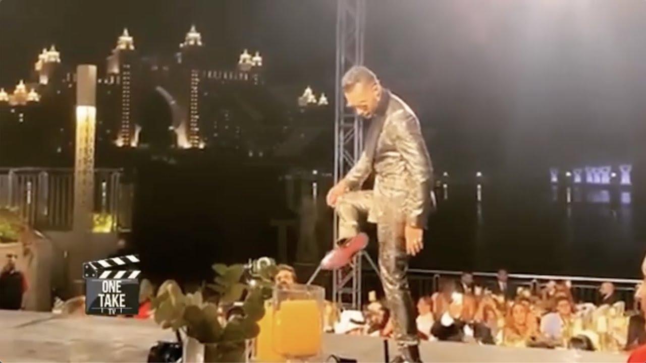 ثقة في الله ما يوقع إلا الشاطر 🤣😂☝🏾- مهرجان ضيافة دبي - محمد رمضان