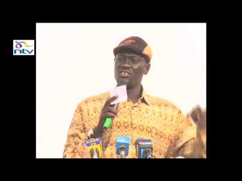 Governor Nanok on mineral law