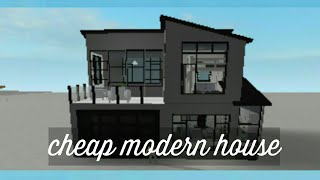 cheap modern house   22k+   Roblox Bloxburg