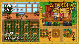 Stardew Valley 2019 Year 2 Onwards! E99 Moving Farm Buildings & The Skull Cavern Key