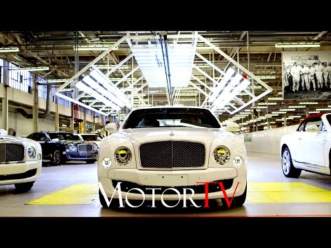 CAR FACTORY : BENTLEY MULSANNE PRODUCTION LINE l Pyms Lane Factory