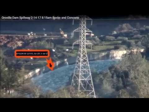 Oroville Dam Repair update & Waterlevel Timeline