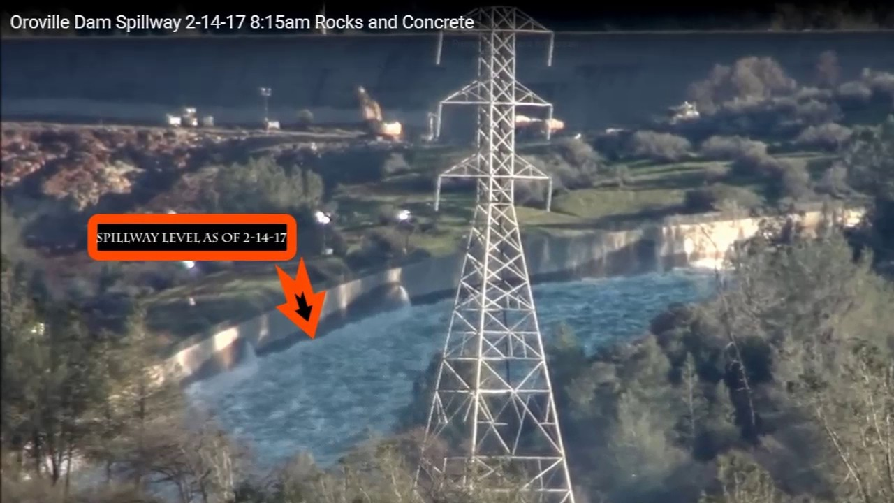 Oroville Dam Repair update & Waterlevel Timeline - YouTube