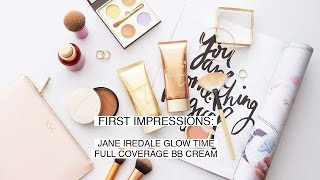 First Impressions: Jane Iredale Glow Time Foundation & More! | LION IN THE WILD